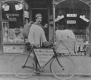 Billy Prentice, nicknamed the 'midnightbaker' as he delivered bread at all hours in Epping