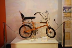 Original MK1 Raleigh Chopper from Nottingham City Museums and Galleries