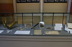 WW1 exhibition