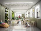 Artist impression of how the Education/Community Room will look