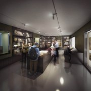 Artist impression of how the Core Gallery will look