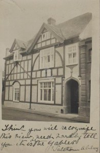 Image showing the original entrance to the house that is now the museum