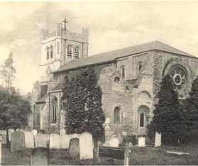 Waltham Abbey Church, c.1904