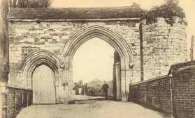 Abbey Gateway, c.1900