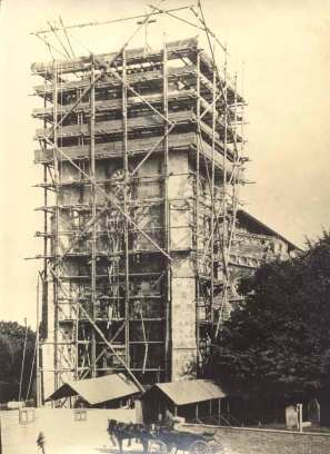 Waltham Abbey Church restoration, c.1904