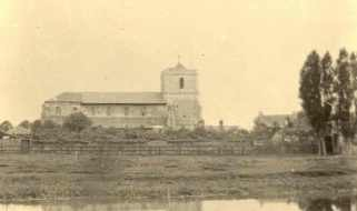 Waltham Abbey Church, c.1891