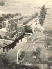 View from Waltham Abbey Church Tower, c.1939