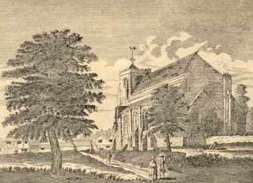 Waltham Abbey Church, c.1750