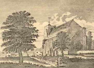 Waltham Abbey Church, c.1750