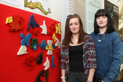 Mythical Creature interactive created by Caitlin Taylor and Mia Green