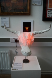 Minotaur lamp by Stephanie jack