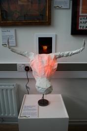 Minotaur lamp by Stephanie jack