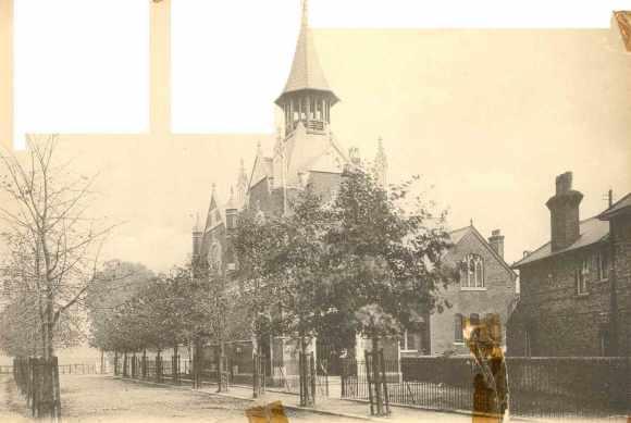 Wesleyan Church, Monkswood Avenue, c.1903