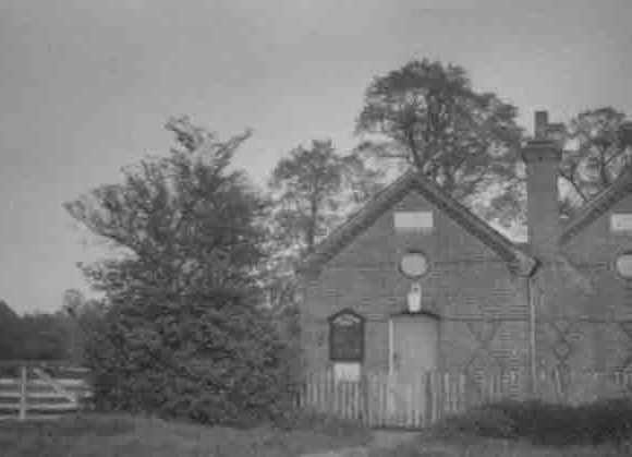 Old Mission Hall, Honey Lane, c.1943