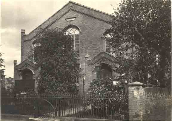 Baptist Chapel, Paradise Row, c.1930