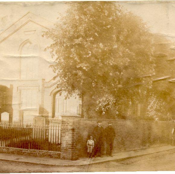 Baptist Church, Paradise Row, c.1880