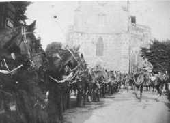 Review of Mounted Troops, c.1900