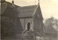 Old Village School at Upshire, demolished 1954