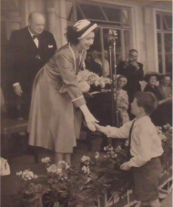 Princess Elizabeth at Grange Farm