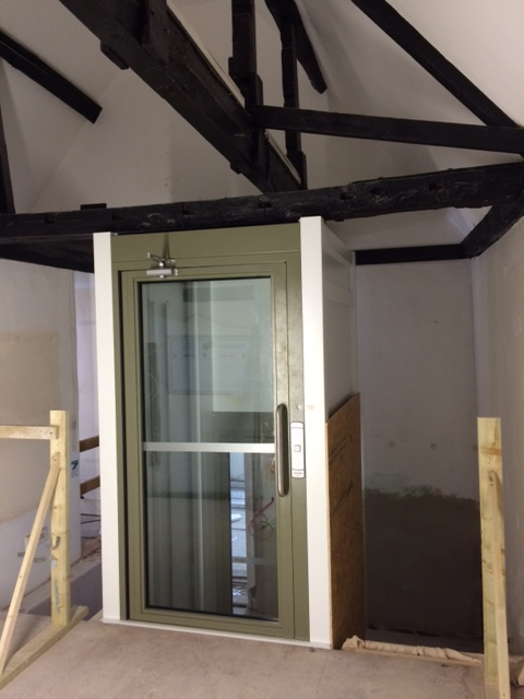 New lift at Epping Forest District Museum