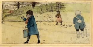 Winter schoolers Goldings Hill