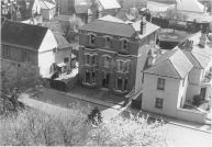 View of South side of Church Street viewed from church tower c.1950