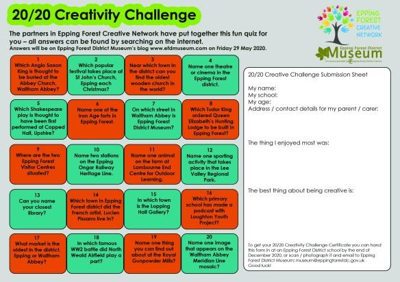 2020 Creativity Challenge 2