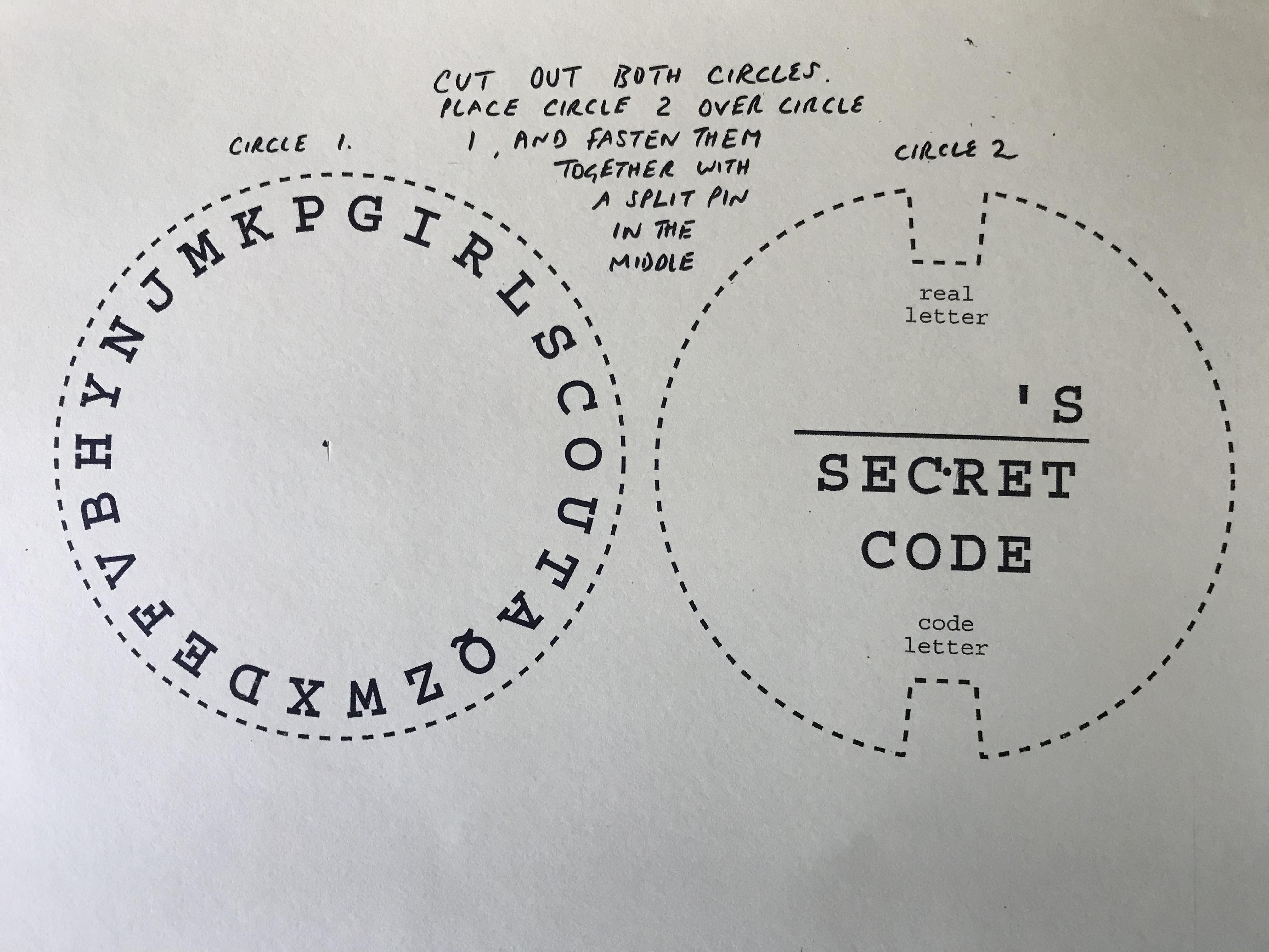 Code Wheel 1