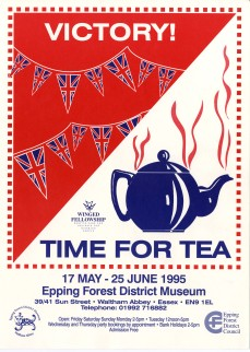 Poster Victory WW2 & Time for Tea